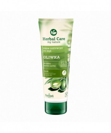 Olive nutritional hand cream